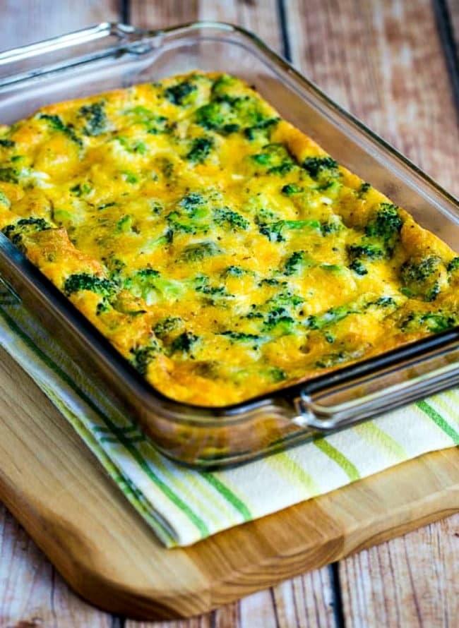 Broccoli Cheese Breakfast Casserole