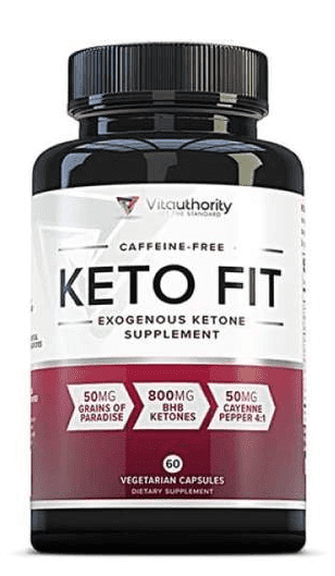 Vitauthority Keto Fit Packaging