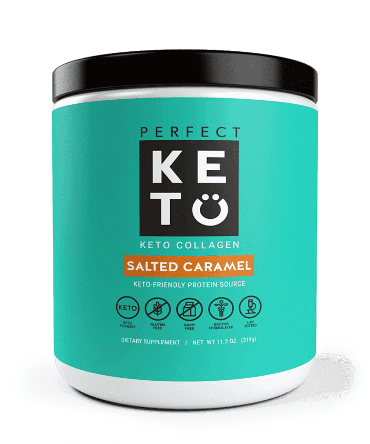 Perfect Keto: Collagen - Salted Caramel Flavor