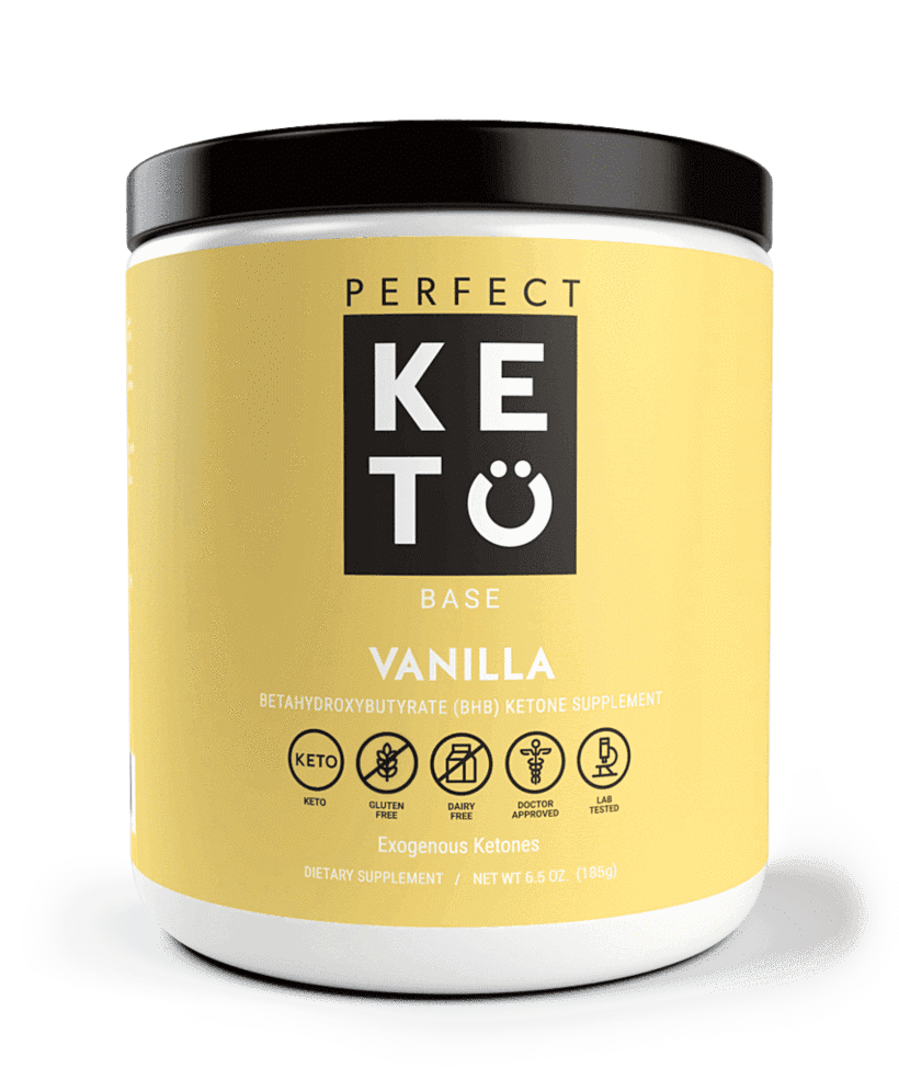 Perfect Keto: Exogenous Ketone Base - Vanilla Flavor
