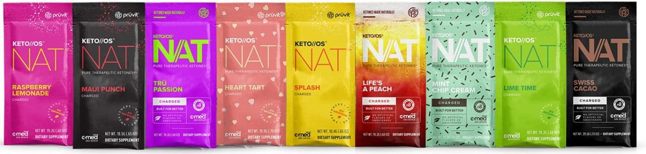 Pruvit Keto OS Flavors