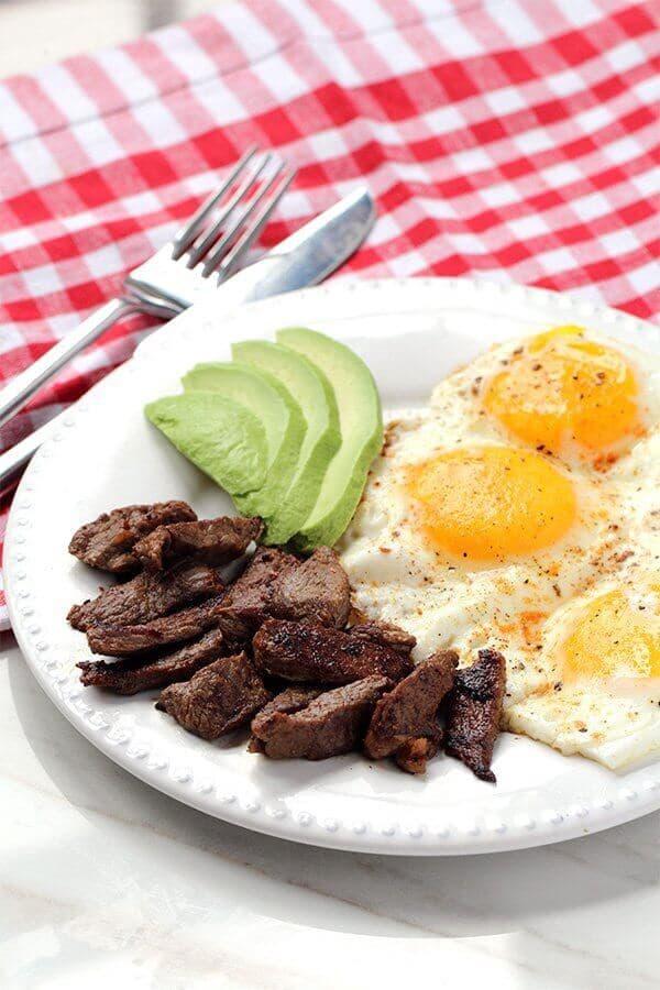 Steak and Eggs