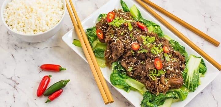 Asian Shredded Beef