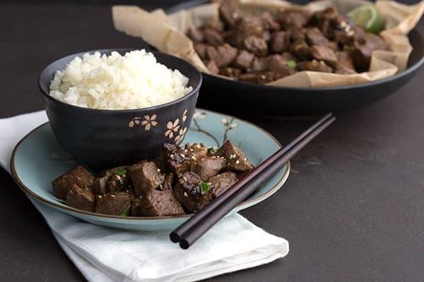 Asian Steak Bites - Keto Chinese Food