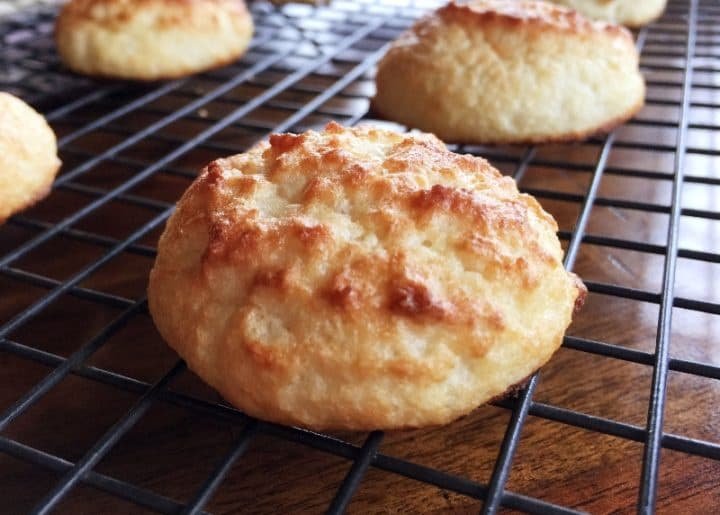 Rum Coconut Keto Cookies