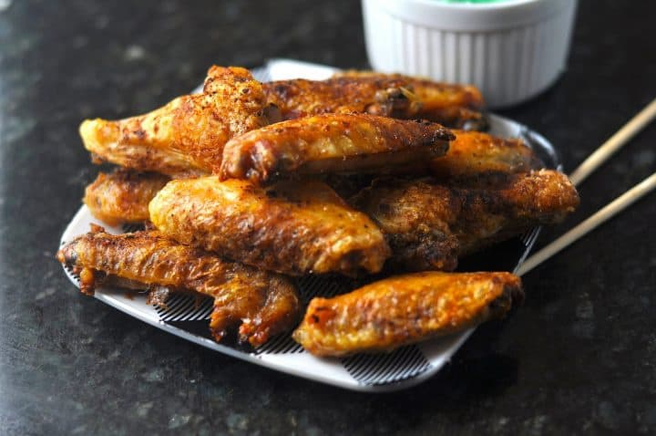 Five Spice Wings - Keto Chinese Food