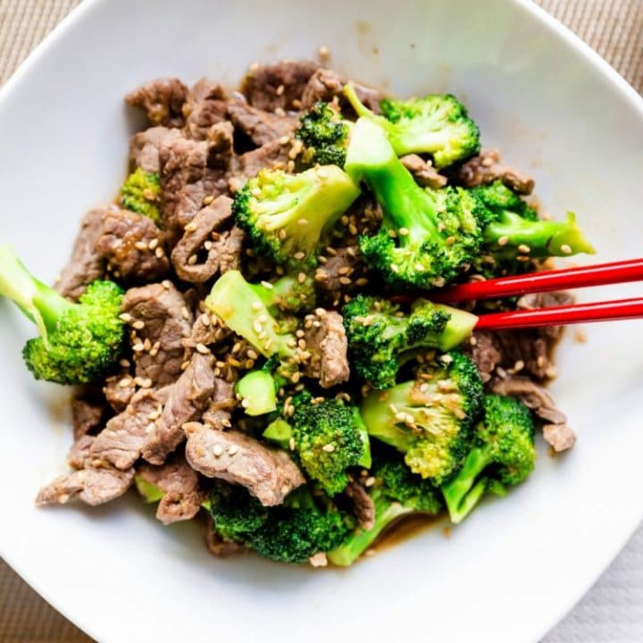 Keto Beef-n-Broccoli Stir-Fry