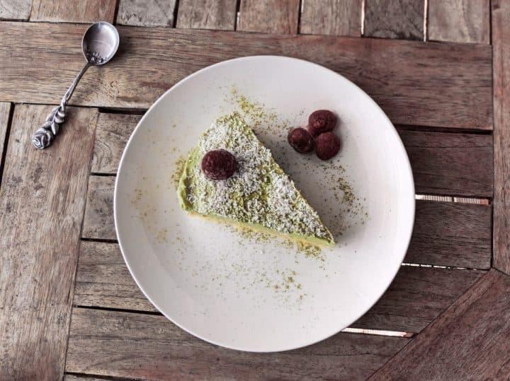 Keto desserts matcha cake