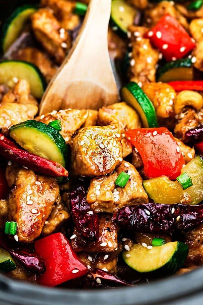 Low-Carb Kung Pao Chicken
