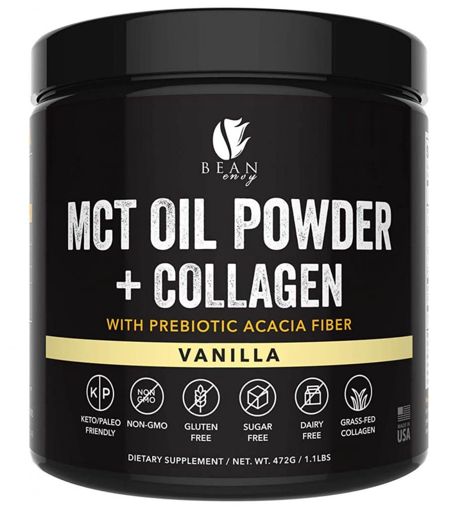 Bean Envy MCT Oil Powder - Vanilla Flavor