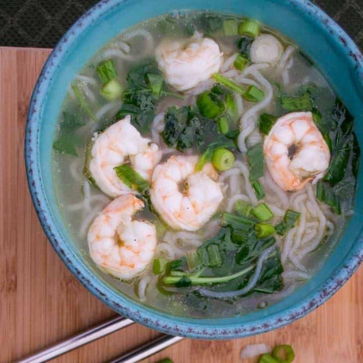 Keto Shrimp Soup