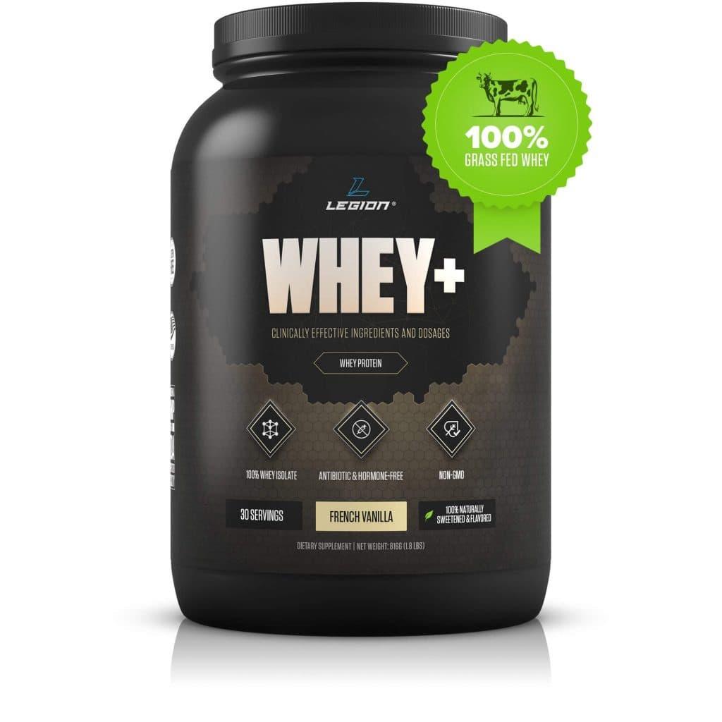 Legion Whey+: Whey Isolate Protein Powder