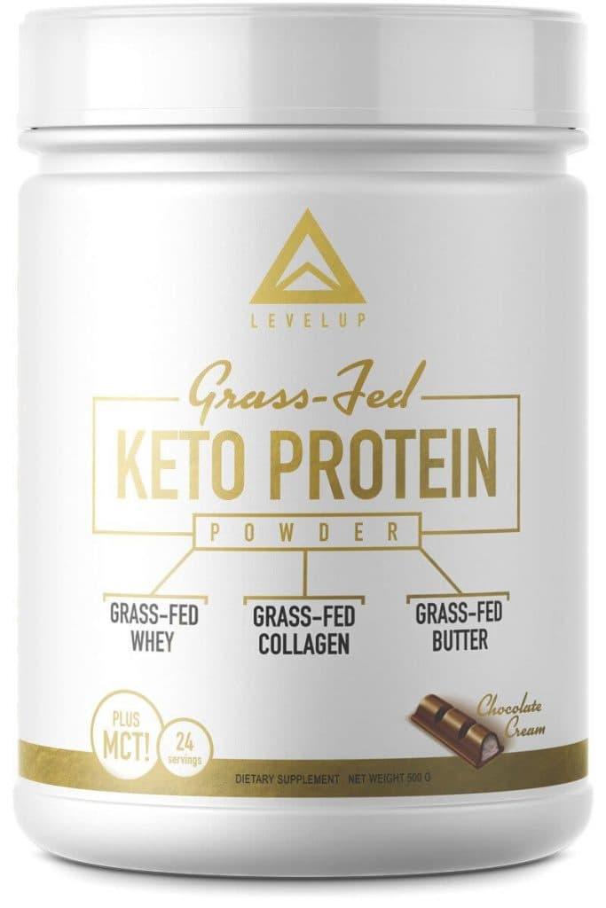 LevelUp: Grass-Fed Keto Protein Powder