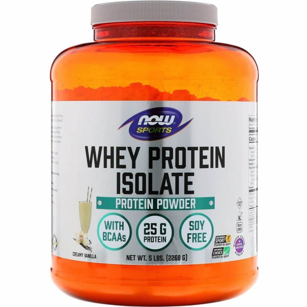 Now Sports: Whey Protein Isolate