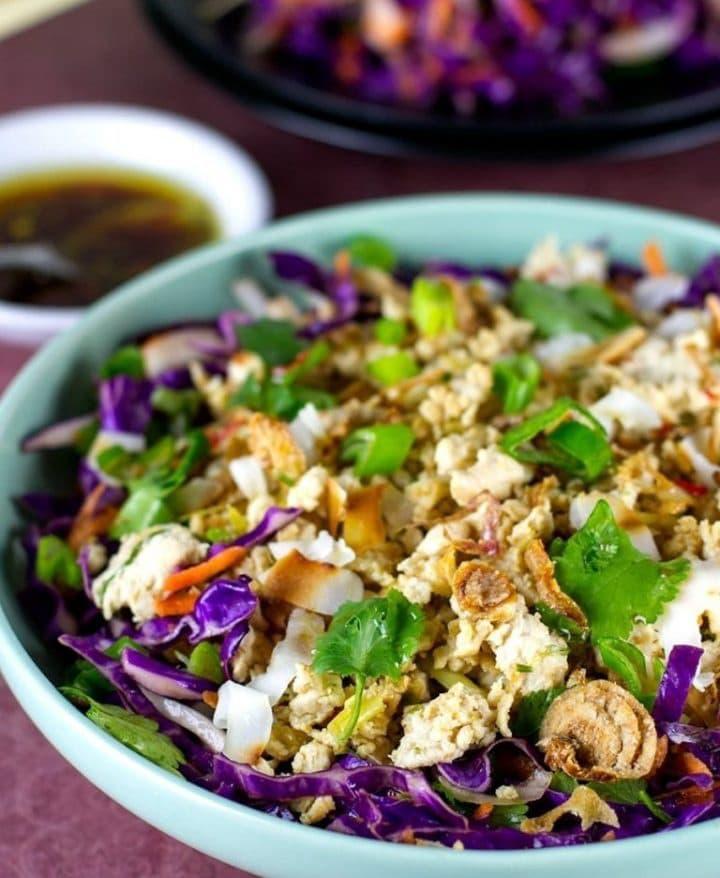 Chicken Larb Salad