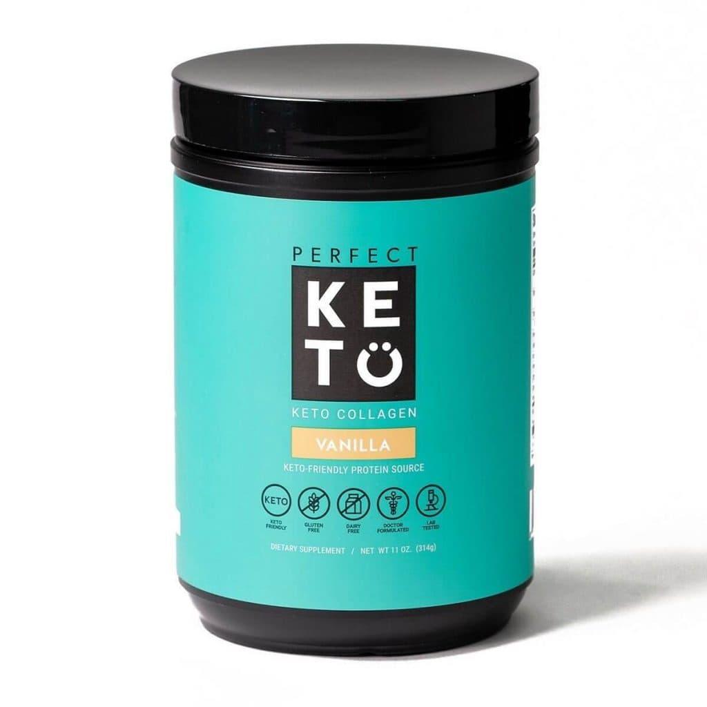 Perfect Keto: Collagen - Vanilla Flavor