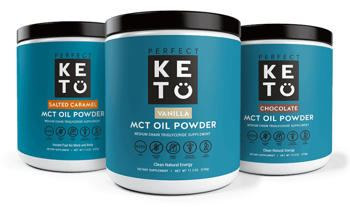 Perfect Keto MCT Oil Powder - 3 Pack