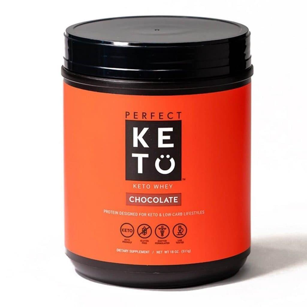 Perfect Keto Protein Powder - Chocolate Flavor