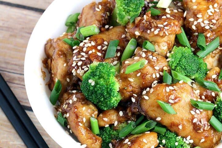 Sesame chicken Keto Chinese Food