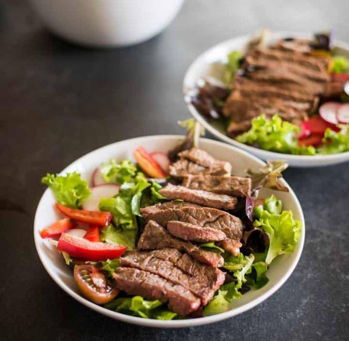 Keto Chinese Food: Steak Salad