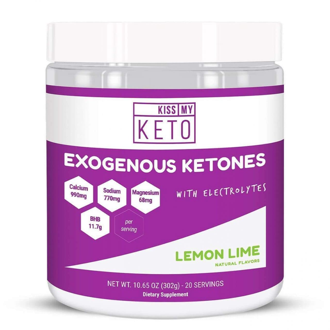 Kiss My Keto Exogenous Ketones (Lemon Lime)