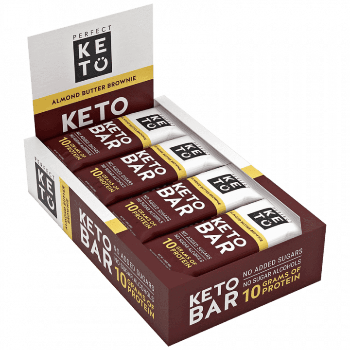 Perfect Keto Bar - Almond Butter Brownie Flavor