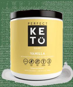 Perfect Keto: Exogenous Ketone Base - Vanilla Flavor