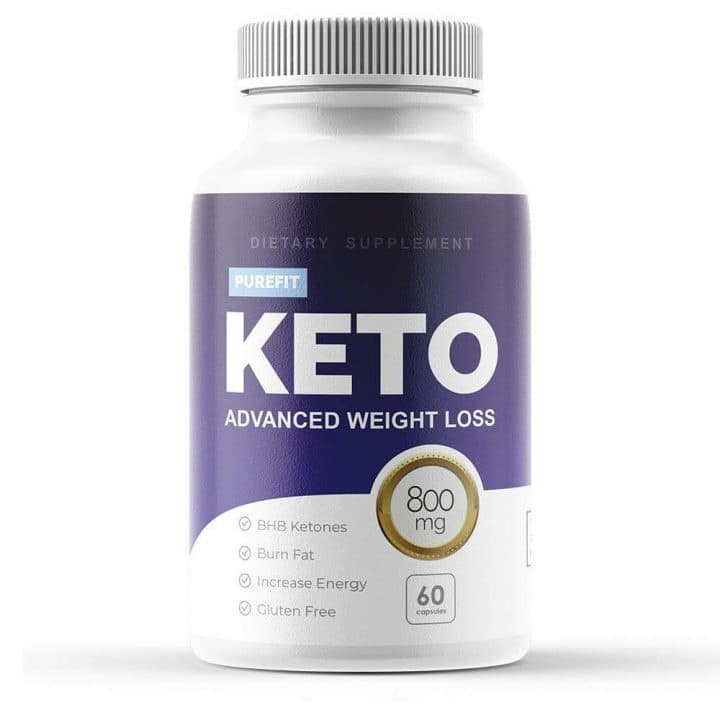 Purefit Keto Packaging