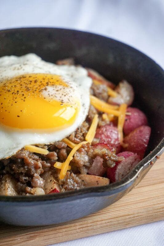 Sausage and Egg Breakfast Bowl