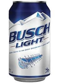 Busch Light Low Carb Beer
