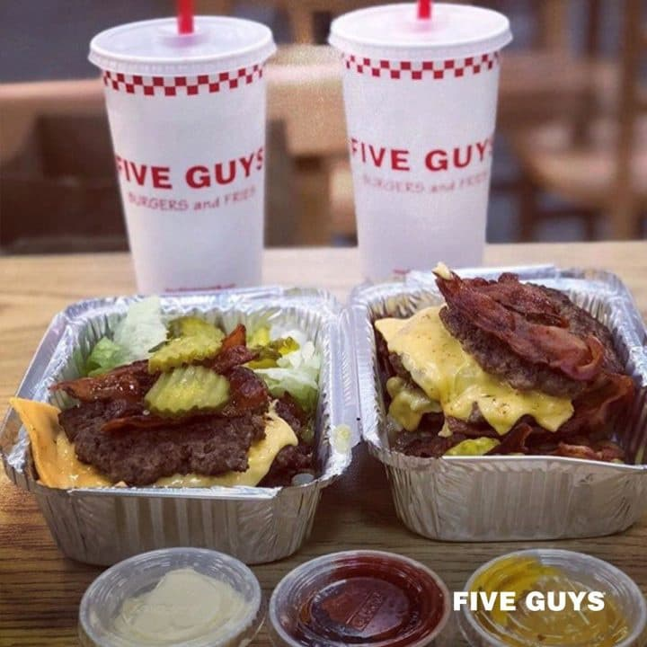 Five Guys Keto