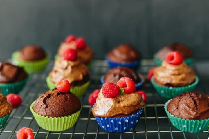 Choco Coconut Cupcakes
