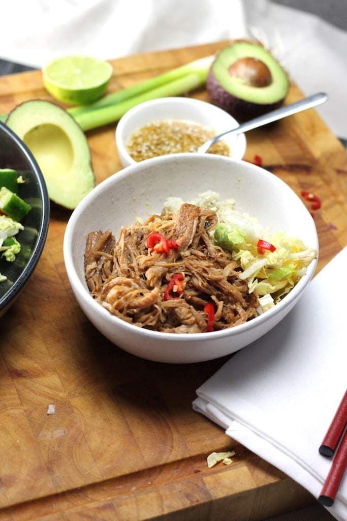 Keto Chinese Food Pulled-Pork