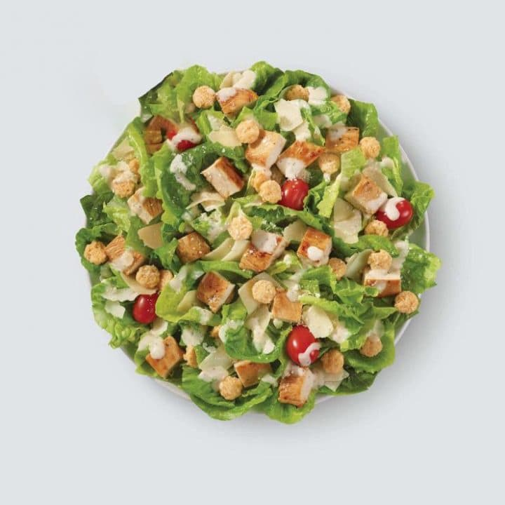 Keto salad-Wendys