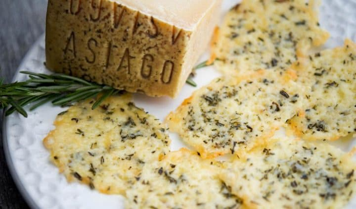 Cheese crisps keto sides