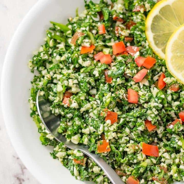Keto Tabbouleh Salad