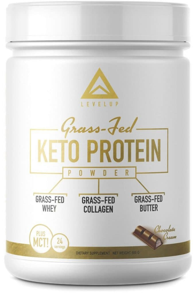 LevelUp: Grass-Fed Keto Protein Powder