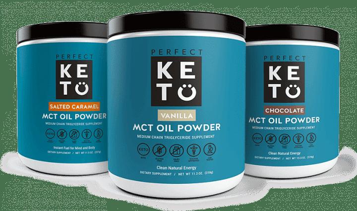 Perfect Keto MCT Oil Powder - 3 Pack
