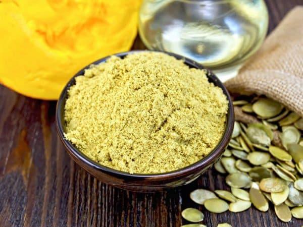 Pumpkin seed flour