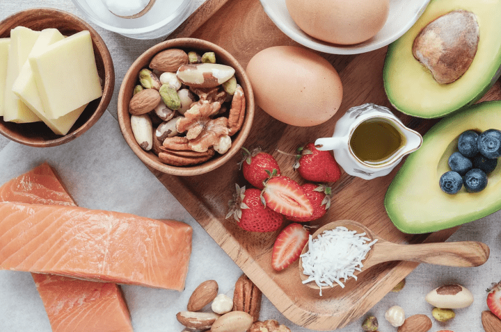 low carb vs keto foods